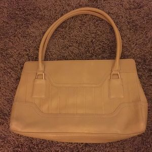 DNKY mustard cold purse